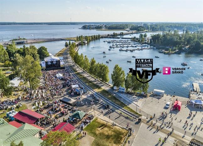 Vaasa Festival – Music, Food & Wine ordnas den 26-27.7 i Vasas inre hamn
