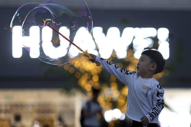 Amazons japanska filial slutar att sälja Huaweiprodukter.