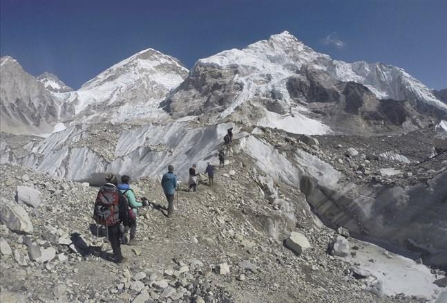 Sju personer har omkommit på Mount Everest under den senaste veckan. Arkivbild.
