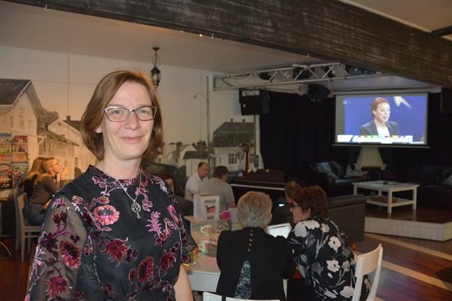 Mikaela Björklund kandiderade i EU-valet 2019 (bilden). På tisdagen kom hennes besked om stadsdirektörstjänsten i Närpes.