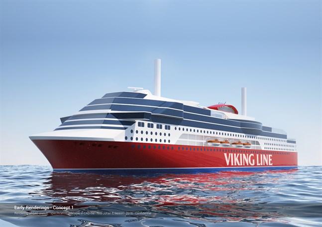 Viking Glory byggs i Xiamen i Kina. Jungfruturen är planerad till år 2021.