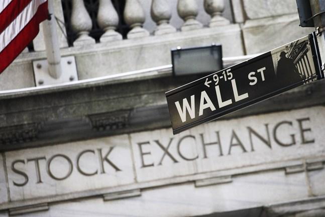 Kurserna dök på New York-börsen på fredagen. Arkivbild.
