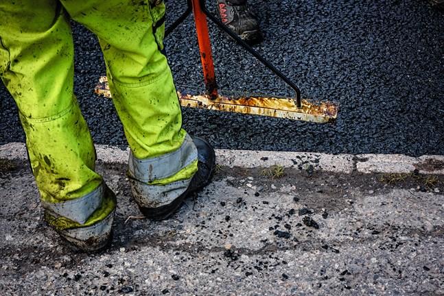 Vasa börjar sommarens asfaltering i juni.