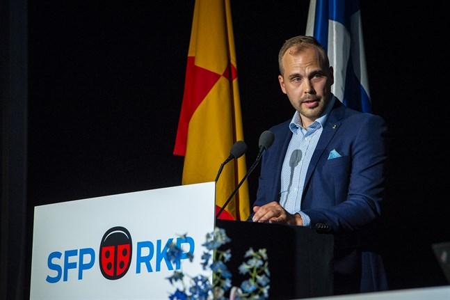 Martin Norrgård (SFP) ställer inte upp för omval.