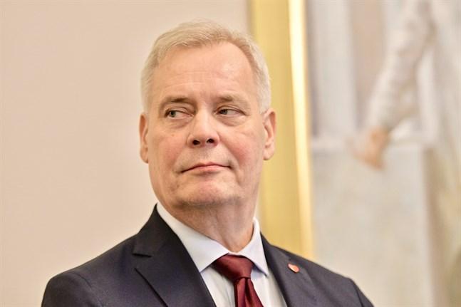 Statsminister Antti Rinne (SDP) får chansen att försvara sitt regeringsprogram i riksdagen.