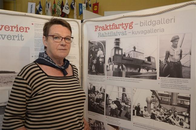 Lis-Marie Enroth-Niemi, ordförande för Kaskö hembygds- och museiförening, vet inte hur föreningen ställer sig till att eventuellt överta fiskemuseet.