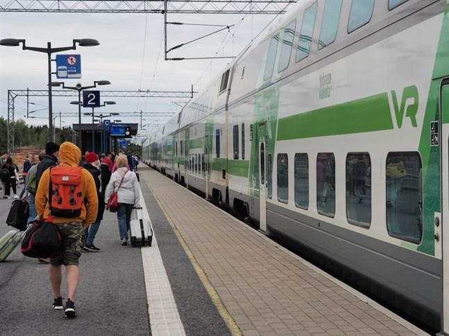 Klimatoron är en av orsakerna till att allt fler väljer att resa med tåg.