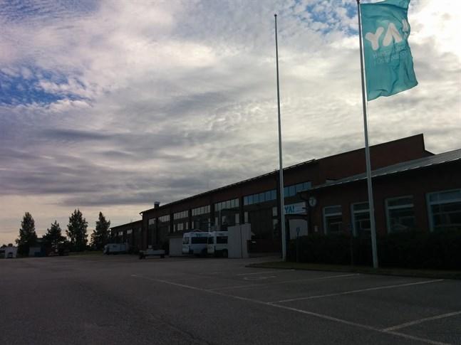 Yrkesakademin i Österbottens enhet i Närpes.