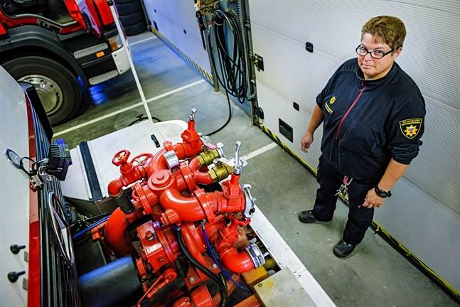 Stationsmästare Malin Åminne varnade i somras för problemen med  vattenpumpen på släckningsbil KP311. I fredags besannades hennes farhågor.
