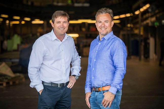 Vice vd Henry Hawkins och vd Anders Kurtén ska leda Baltic Yacht i fortsättningen.