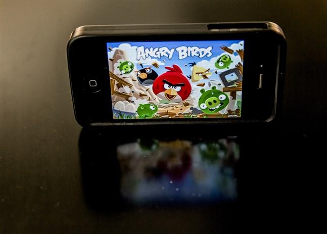 """""""Angry birds""""-skaparna stämmer en snabbmatskedja med samma namn. Arkivbild."""