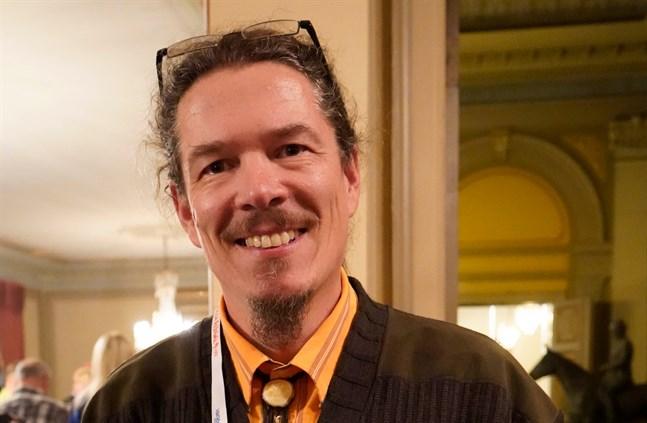 Konferensens koordinator Jukka P. Seppälä.