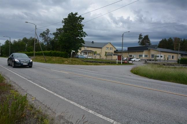Det blir ingen sänkt hastighet på Strandvägen i korsningsområdet till Skogsdungens daghem i Kalax.