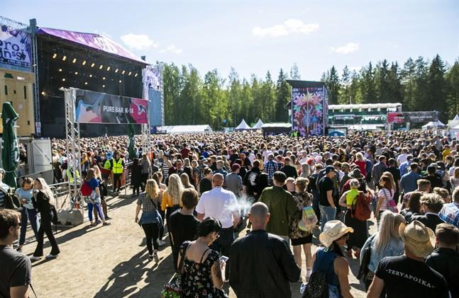 Provinssi-festivalen i Seinäjoki ställs i för andra året i följd.