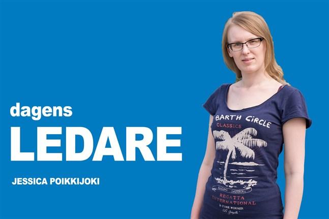 Jessica Poikkijoki, kulturredaktör Österbottens Tidning.