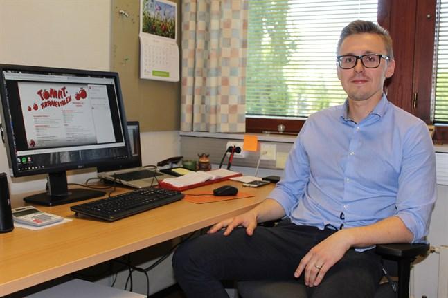 Vi planerar för att tomatkarnevalen ska bli av i sommar, konstaterar Victor Strömbäck.