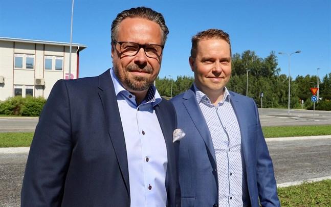 Michael Söders och Niclas Lundells bolag toppar i Korsholm bland företag och samfund.
