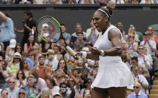 Serena Williams är klar för semifinal i Wimbledon.