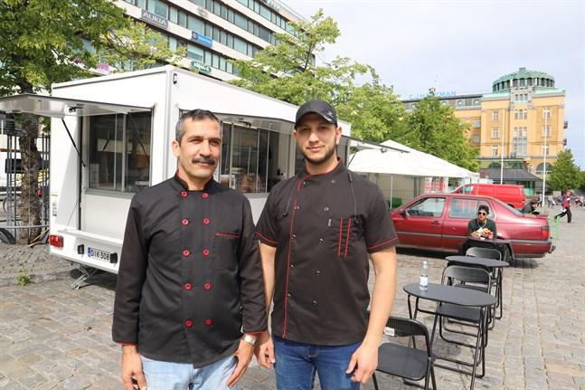 Maher Oraibi och Tahaemad Ali.