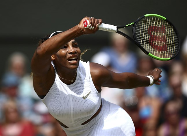 Serena Williams är åter i final i Wimbledon.