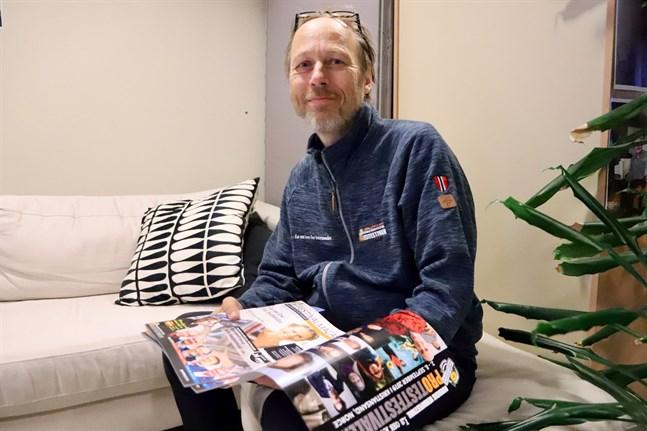 Svein Inge Olsen var med och arrangerade den första Protestfestivalen i juli 2000. I september är det dags för den 20:e festivalen.