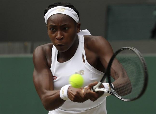 """Cori """"Coco"""" Gauff rusar upp på världsrankningen efter succén i Wimbledon."""