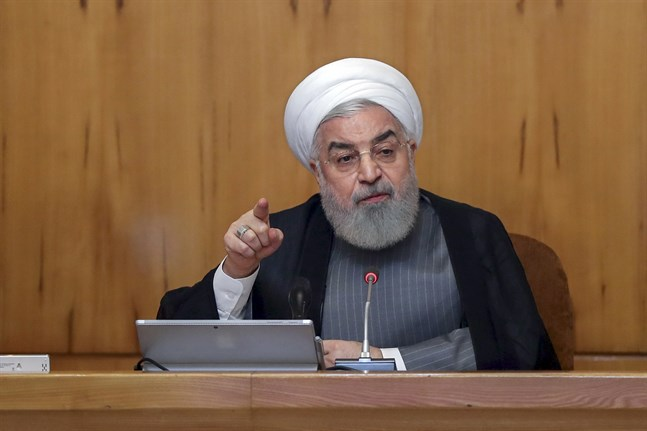 Irans president Hassan Rohani. Arkivbild.
