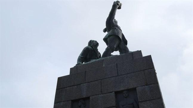 Frihetsstatyn i Vasa.