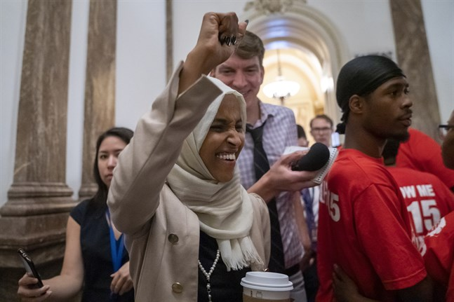 Den demokratiska kongressledamoten Ilhan Omar.