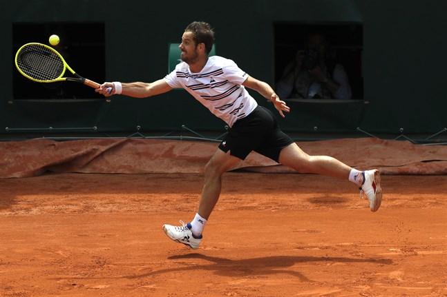 Franske fjolårsfinalisten Richard Gasquet är utslagen ur Swedish Open. Arkivbild.