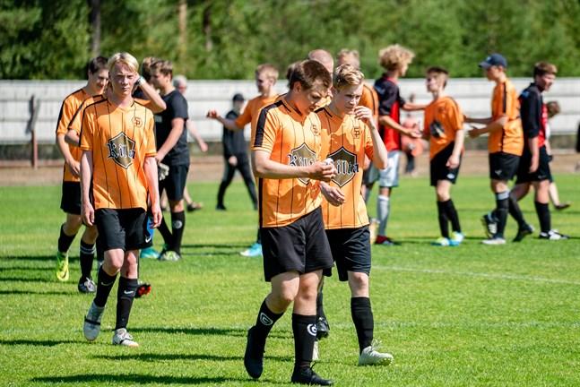 Det blir ingen Kokkola Cup i år. Bilden är från matchen mellan Såka och Sääripotku i Yxpila 2019.
