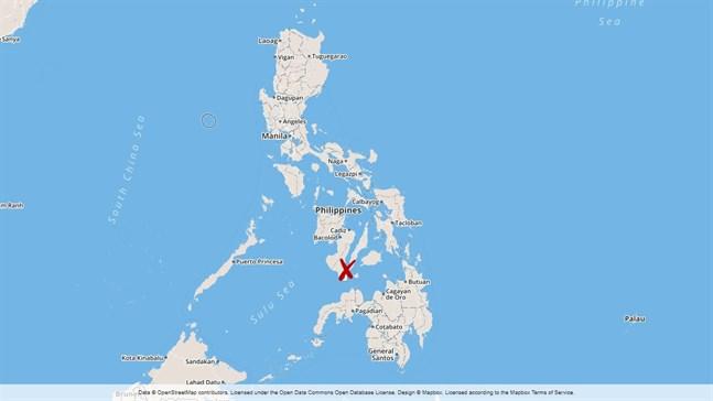 En svår trafikolycka har inträffat i Boljoon i Filippinerna.