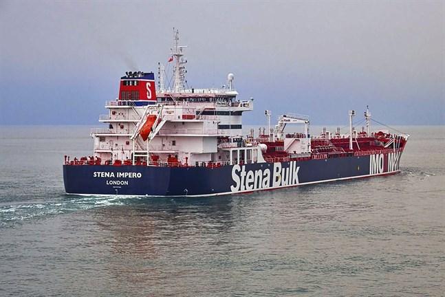 Stena Impero, ägt av det svenska rederiet Stena Bulk, har konfiskerats av Iran. Arkivbild.