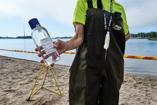 Vasa stad tar vattenprov vid tretton stränder.