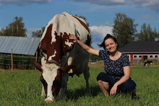 Kaisa Pihlajas gård Korkiakoski hör till de första gårdarna i Europa att leverera WQ-certifierad mjölk.