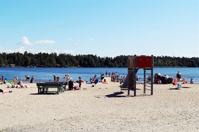 Carpella i Karperö är välbesökt under de varmaste sommarveckorna.