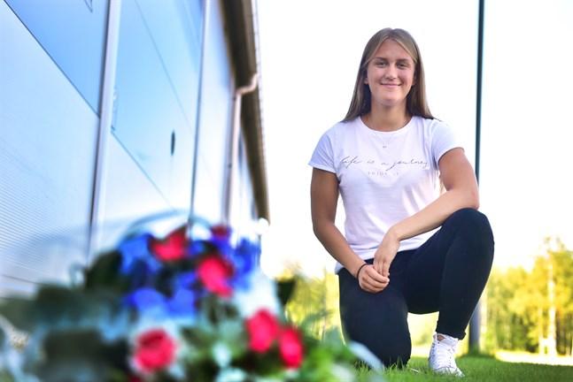 Julia Ahlskog är klar för sin andra VM-turnering  på lika många år.