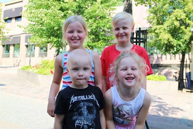 Linn, Linus, Liam och Lilly Vestman