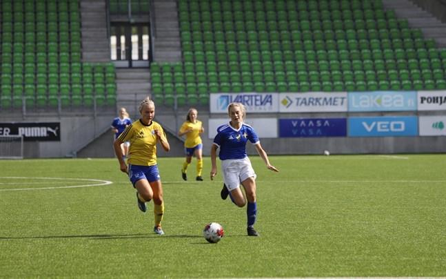 Måltjuven Emelie Sax gjorde sitt tionde mål för säsongen hemma mot HJK.
