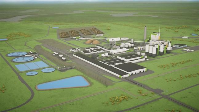 Så här förväntas fabriken som blir klar 2022 se ut.