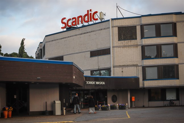 Scandic Waskia vid Tropiclandia i Vasa.