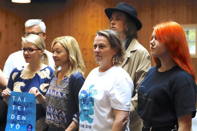 Leena Nyqvist är nöjd med årets program på Konstens natt.