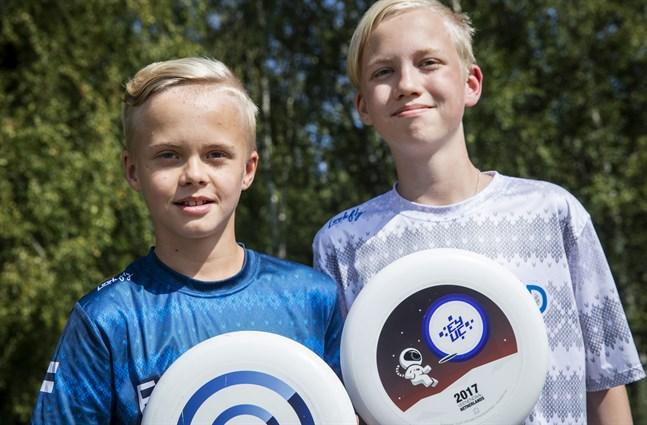 Jooa och Johan Hurtig är tacksamma för att de får delta i EM tillsammans.