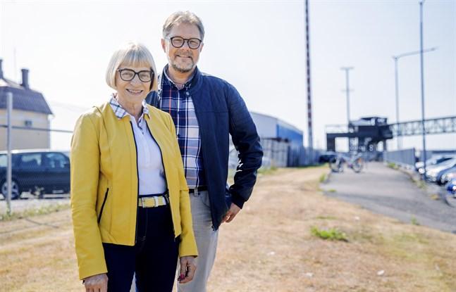 Anita Ismark och Patrick Ragnäs