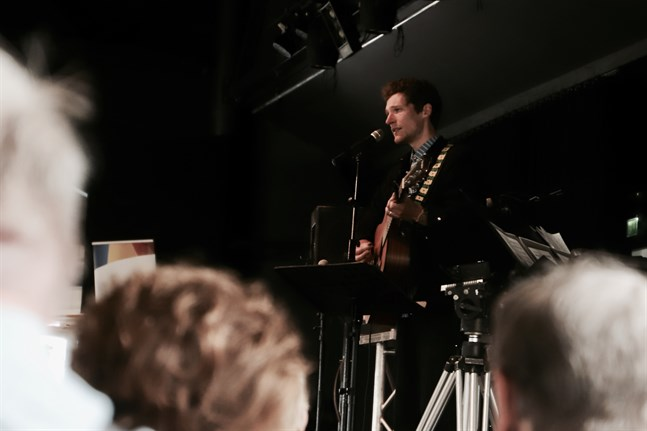 """Markus """"Månskensbonden"""" Bergfors ser fram emot att få spela inför en livepublik efter en lång paus. Arkivbild."""