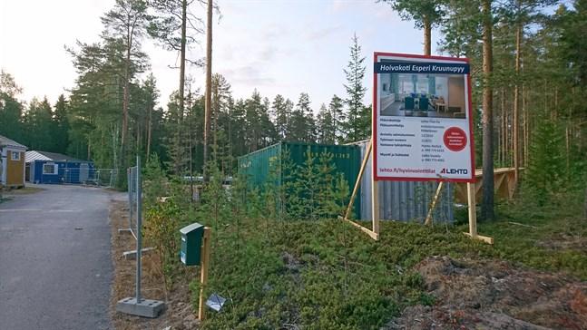 Stödboendet ska drivas av Esperi Care och ha sexton boendeplatser.
