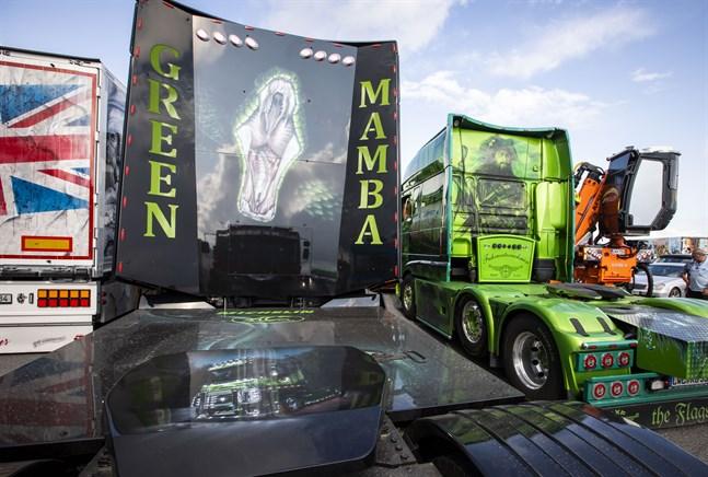 Power Truck Show brukar locka flera tusen personer till Alahärmä. Bilden togs 2019.