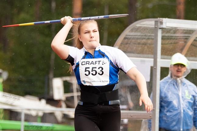 Anni-Linnea Alanen, ursprungligen från Lillkyro, är EM-medaljör.