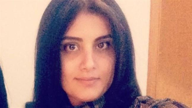 Den saudiarabiska kvinnorättsaktivisten Loujain al-Hathloul. Arkivbild.