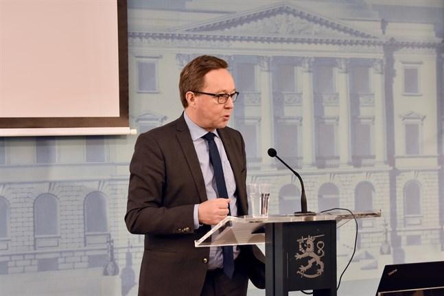 Finansminister Mika Lintilä berättade om Finansministeriets budgetförslag på onsdagen.